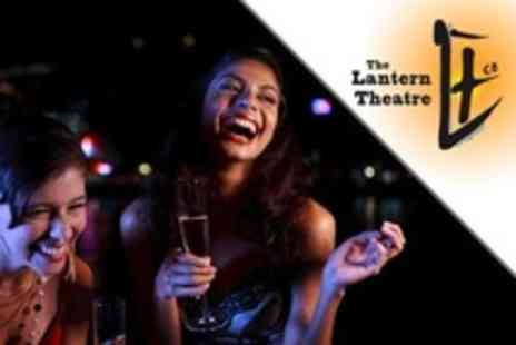 The Lantern Theatre - Two Comedy Show Tickets With Wine or Beer Each - Save 50%