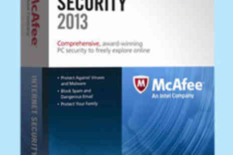 Software Link - McAfee Internet Security 2013 for One User - Save 70%
