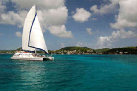Caribbean Scene - Luxe seven night catamaran cruise around St Martin and St Barts including full board and all travel - Save 19%