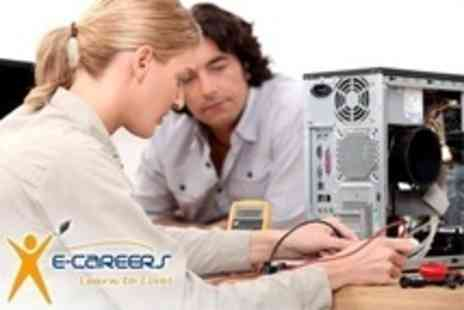 e Careers.com - Eight Course PC Technician Package Including Maintenance - Save 90%
