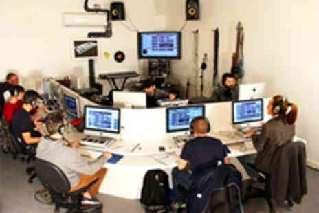 Garnish Music Production School - Introductory music production class plus a CD of your track to take home - Save 50%