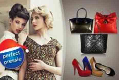 Dress Room - Voucher to spend on an irresistible range of handbags shoes and dresses - Save 50%