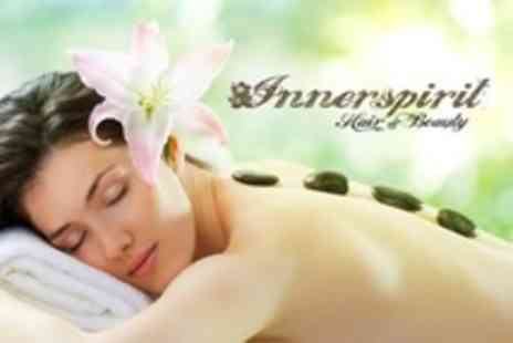 Innerspirit Holistic Hair - Hot Stone Massage or Reflexology Plus 30 Minute Facial For One - Save 68%