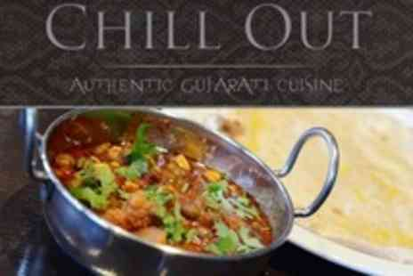 The Chill Out Cafe - Two Course Indian Meal For Two - Save 58%