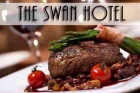The Swan Hotel - Two Courses For Two With Wine - Save 63%