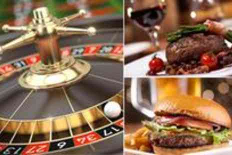 Gala Casino - Two course meal for two people including a glass of wine or pint of beer plus - Save 70%