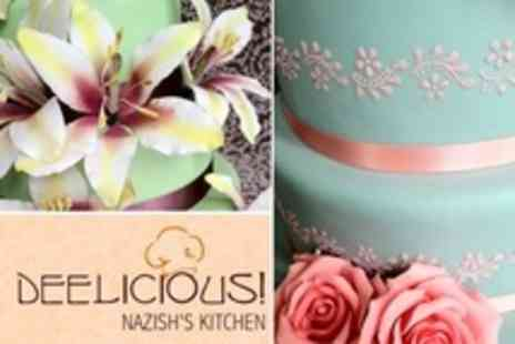 Deelicious Nazishs Kitchen - Choice of Cake Decorating or Sugar Craft Class For One - Save 10%