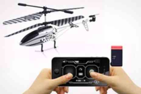 Extreme Fliers - iPhone Controlled Robocopter GST Helicopter - Save 58%