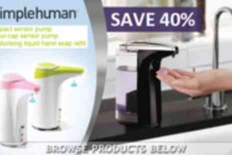 Simplehuman - S H Soap Pumps - Save 45%