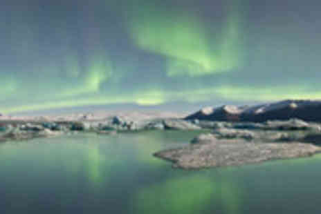 MoneySupermarket Deals - Northern Lights getaway to Reykjavik with return flights, breakfast and guided tour - Save 49%
