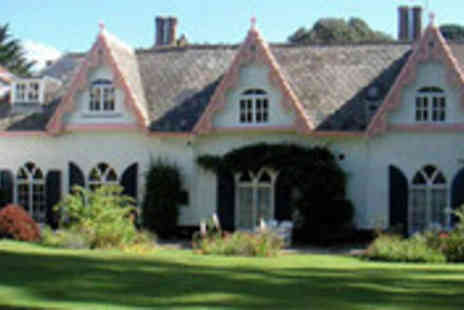 The Woodlands Hotel - Coastal getaway to Devon for two people including breakfast - Save 30%