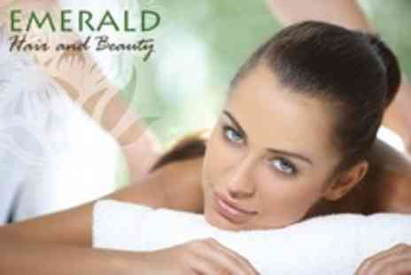 Emerald Hair - Bespoke Full Body Massage - Save 63%