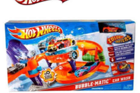 Hot Wheels - Bubble Matic Car Wash - Save 48%