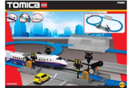 Tomica - Hyper City Starter Rail Set - Save 46%