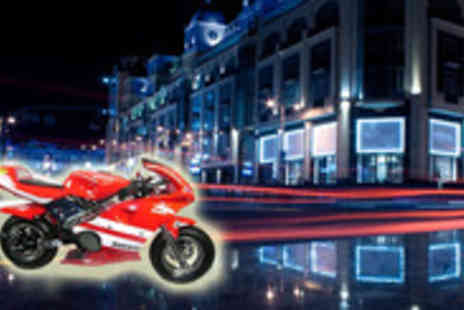 Genee Wenee - Electric Ride-on Motorbike Choose from seven eclectic styles and get speeding around your property  - Save 75%