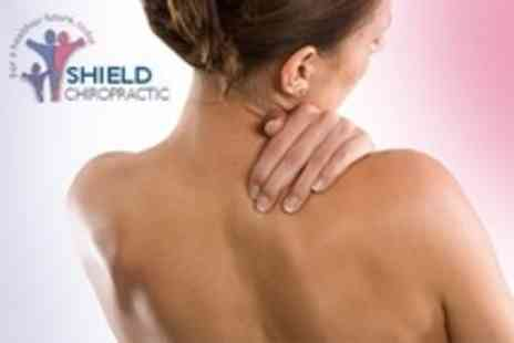 Shield Clinic - Three Chiropractic Sessions With Computerised Spinal Scan and Consultation - Save 86%