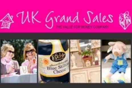 UK Grand Sales - Tickets to Christmas Grand Sale For Two - Save 50%