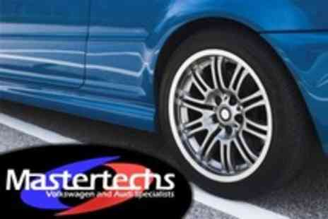 Mastertechs - Car Panel Re Spray With Dent Removal Plus Wash, Vacuum Clean and Car Health Check - Save 73%