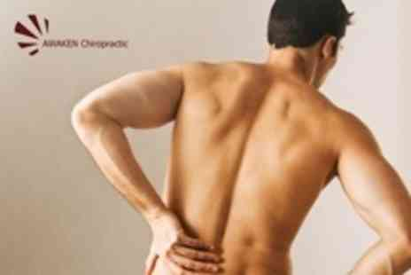 Awaken Chiropractic - Consultation, Three Treatments and Chiropractic Workshop - Save 80%