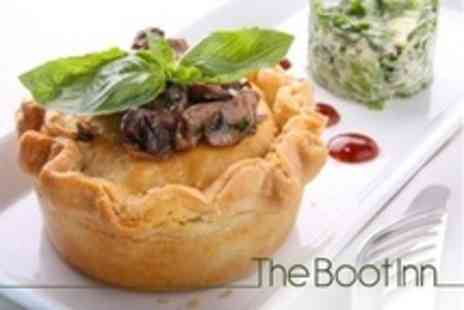 The Boot Inn - Sunday Lunch For Two With Liqueur Coffees - Save 50%