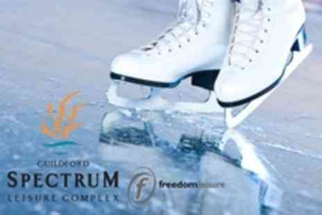 Guildford Spectrum - Ice Skating For Two - Save 30%