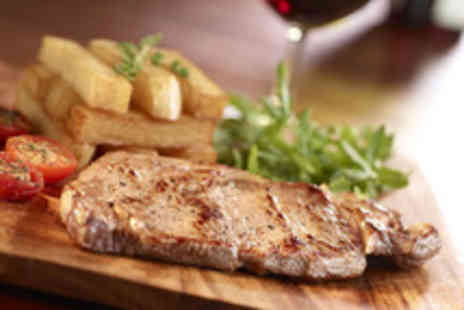 The Anchor Inn - Two course gastropub meal for 2 with wine - Save 58%