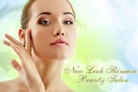 New Look Skincare Beauty Salon - Three Crystal Clear Microdermabrasion Facial - Save 68%