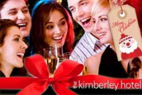 The Kimberley Hotel - Three Course Christmas Meal With Wine and Disco - Save 52%