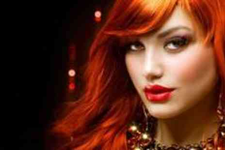 Boudoir Hair and Beauty - Half head of highlights or a full head of colour with root tint - Save 75%
