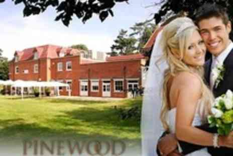 Pinewood Hotel - Wedding Package For 50 Guests With Three Course Breakfast and Reception - Save 50%