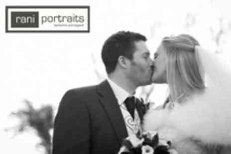Rani Portraits - Three Wedding Photography Hour Package With Album and DVD of Images - Save 25%