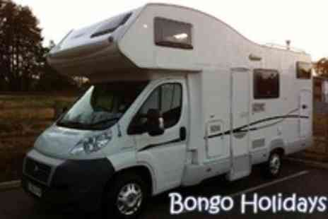 Bongo Holidays - Motorhome Hire for Two Nights - Save 50%