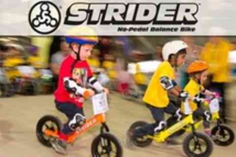 Cyclopark - Family Entry to Play Park With Strider Cycling Sessions For Two Kids - Save 49%