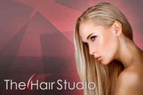 The Hair Studio - Dermalogica Facial or Full Head of Highlights With Cut - Save 58%