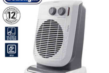 Delonghi - Verticale Oscillating Fan Heater - Save 47%