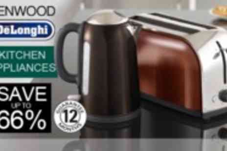 Kenwood - Delonghi November  - Save 52%