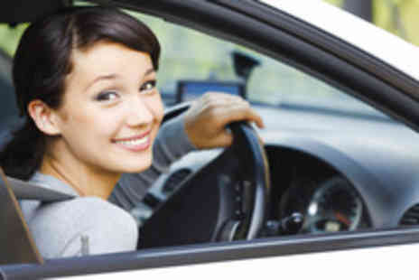 Driving Schools Booking Services - Two 1 hour driving lessons including theory test training - Save 93%