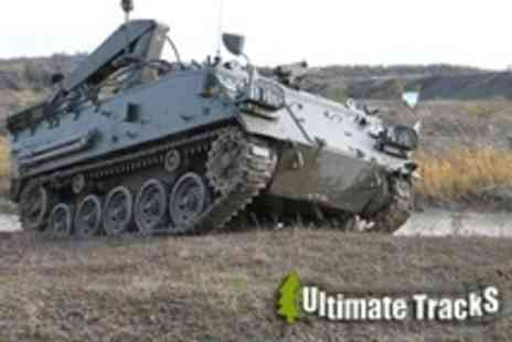 Ultimate Tracks - Tank Paintballing For Two With 100 Paintballs - Save 77%