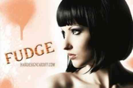 Fudge Hair Design - Cut and Blow Dry With Condition Treatment - Save 64%