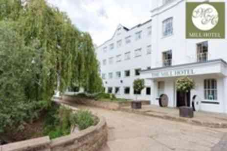 The Mill Hotel - Two Night Stay For Two With Breakfast, ThreeCourse Meal and Bottle of Wine - Save 57%