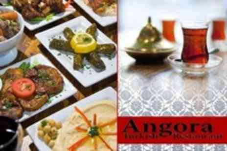 Angora - Three Course Turkish Meal For Two - Save 46%