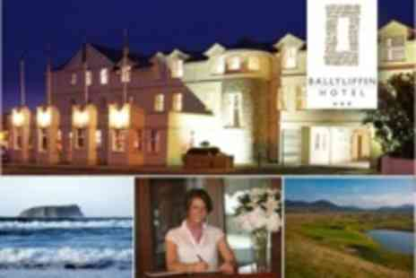 Ballyliffin Hotel - Two Night Stay For Two With Full Irish Breakfast and Welcome Drink Each - Save 55%