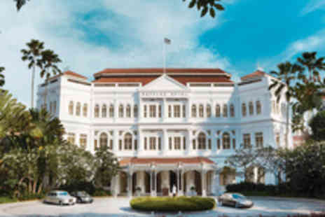 Raffles - Five star Singapore stay and Bintan beach break with two exceptional hotels and all travel - Save 22%