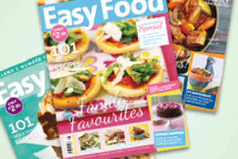 Easy Food Magazine - One Year Easy Food Magazine Subscription - Save 52%