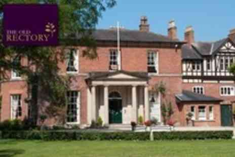 The Old Rectory Hotel - One Night Stay For Two With Afternoon Tea - Save 59%