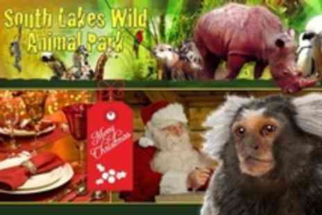 South Lakes Wild Animal Park - Breakfast Plus Reindeer Feeding, Zoo Entry - Save 50%