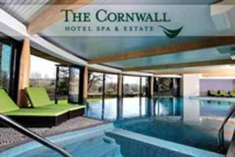 The Cornwall Hotel Spa and Estate - Spa Day With Massage, Facial or Body Polish Plus Prosecco For One - Save 54%