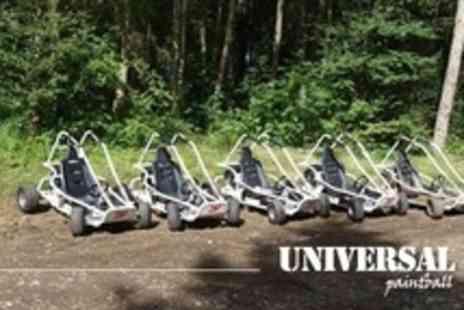 Universal Paintball - Off Road Karting For One - Save 67%