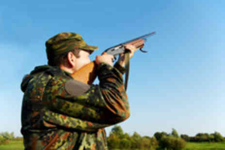 Hereford & Worcester Shooting - Private clay pigeon shooting lesson for 2 people - Save 61%