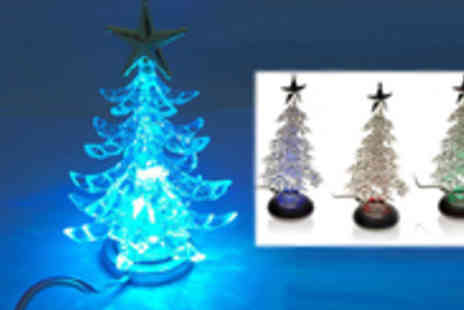 Global Imports and Marketing - Get into the Christmas Mood with a USB powered LED Christmas Tree - Save 40%